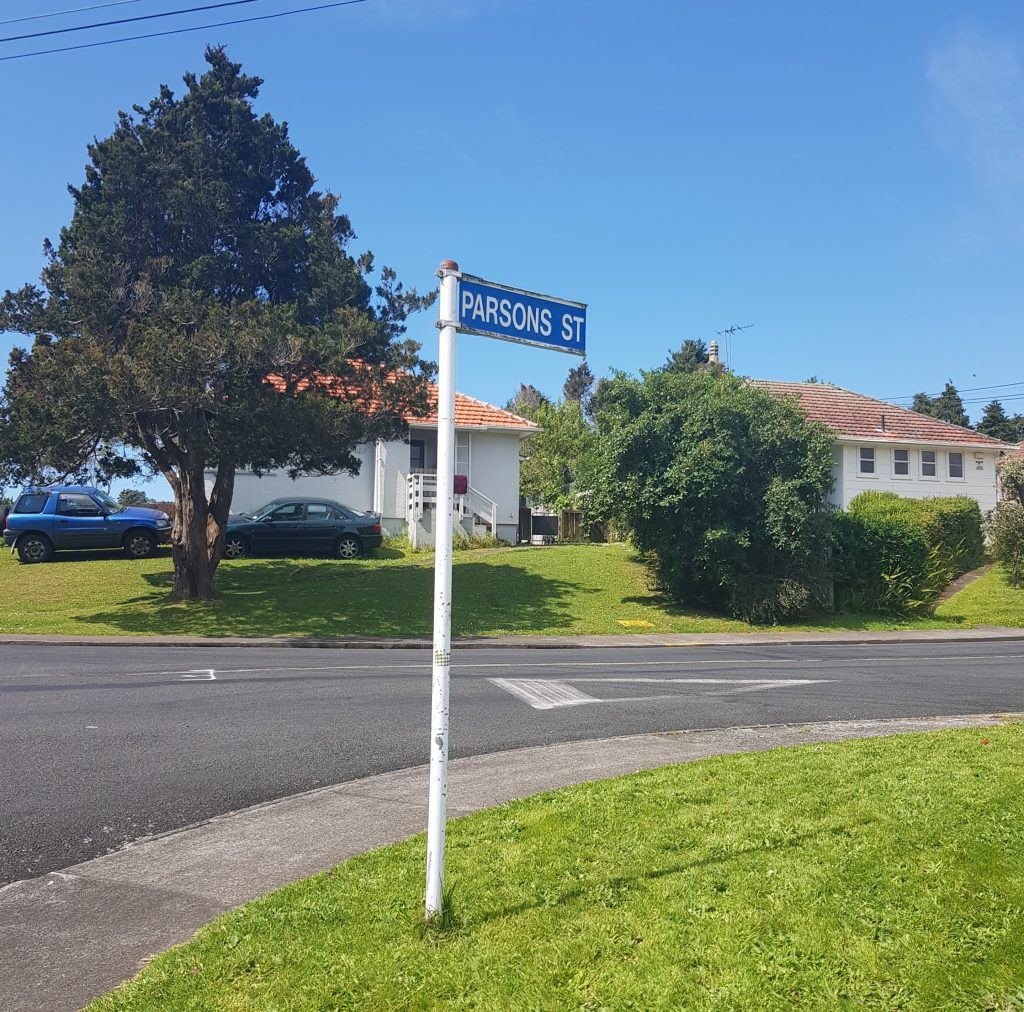 Parsons St, New Plymouth